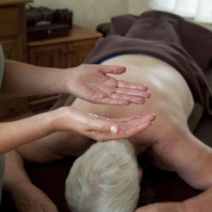 Aromatherapy massage.
