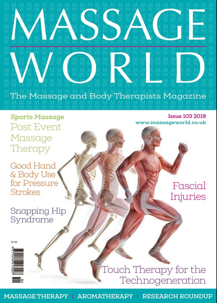MASSAGE WORLD MAGAZINE ARTICLE 103
