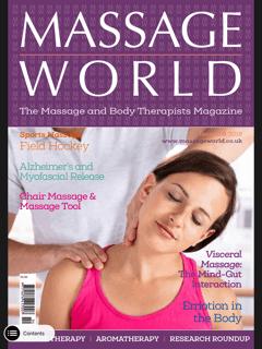 MASSAGE WORLD MAGAZINE ARTICLE 105