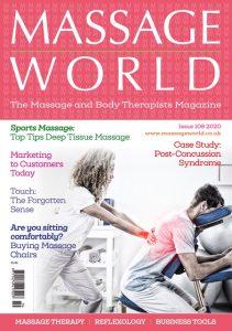 MASSAGE WORLD MAGAZINE ARTICLE 108