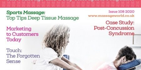 MASSAGE WORLD MAGAZINE ARTICLE 108